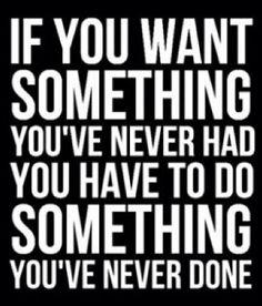 Want Something, Do Something!