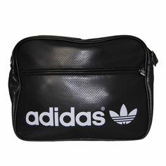 022fe08412 $47.90 Sac PERF Airline Bag Noir et Blanc Sac aspect cuir de couleur noire  microperforé,