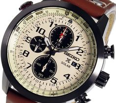 Seiko Men& Solar Chronograph Watch - In Stock, Free Next Day Delivery, Our Price: Buy Online Now Crown And Buckle, Seiko Solar, Slide Rule, Seiko Men, Seiko Watches, Stainless Steel Case, Chronograph, Watches For Men, Stuff To Buy