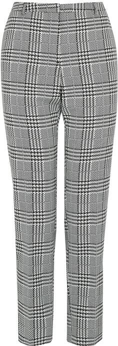 Womens black and white trousers from Oasis - £42 at ClothingByColour.com