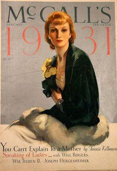vintage 1931 McCall's  magazine