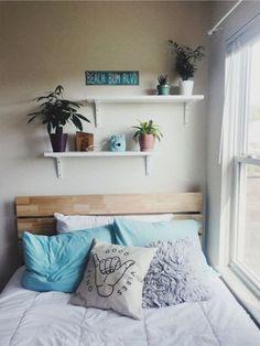 Cute Room Decor, Beachy Room Decor, Surf Decor, Wall Decor, Room Ideas Bedroom, Bedroom Themes, Bedrooms, Bedroom Inspo, Diy Bedroom Decor