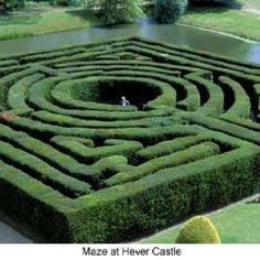 Maze at Hever Castle