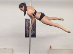 Justine McLucas Pole Dance Training - Baby Fonji's... - YouTube