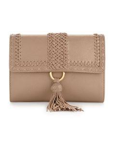 Alexis Hudson - Shawnee Clutch Bag, Putty