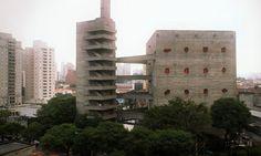 SESC Pompéia, social and cultural centre   São Paulo   Lina Bo Bardi