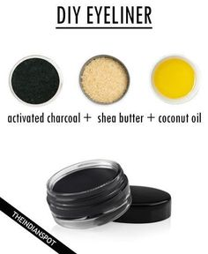 DIY ALL NATURAL MAKEUP DIY FOUNDATION Start with a base of arrowroot powder tsp. for dark skin – 1 Tbs. for light skin). Add in the combination of the cocoa powder, cinnamon, or nutmeg until you reach your desired All Natural Makeup, Natural Make Up, Natural Eyeliner, Natural Beauty, Natural Hair, Organic Makeup, Diy Beauty, Beauty Hacks, Beauty Care
