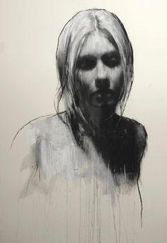 Drawn portrait contemporary #1404