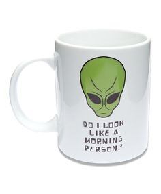 Wild Eye Designs Alien Coffee Mug