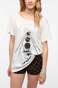 Blood Is The New Black Cup Boyfriend Tee @ Urban Outfitters