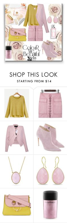 """""""• Colour Me Beautiful •"""" by fashion-fields-forever ❤ liked on Polyvore featuring BCBGMAXAZRIA, Ralph Lauren, Bling Jewelry, Ice, Christian Dior, J.W. Anderson and MAC Cosmetics"""