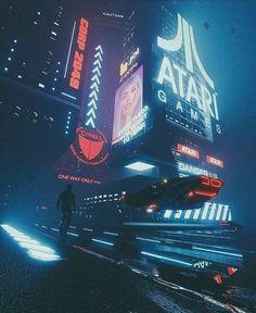 Cyberpunk Aesthetic, Cyberpunk City, Futuristic City, Cyberpunk 2077, Fantasy City, Sci Fi Fantasy, Fantasy World, New Retro Wave, Retro Waves