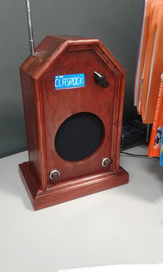 Dab Plus Digital and FM Radio Vintage Cathedral Style Hand