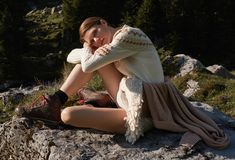 Big Country: Our Autumn Looks - Maison Gassmann Autumn Look, Fall Looks, Fall Winter, Cashmere Pullover, Big Country, Mantel, Diana, Shirts, Photoshoot