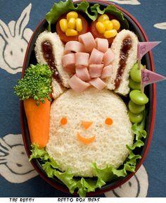 Bunny Sandwich Bento