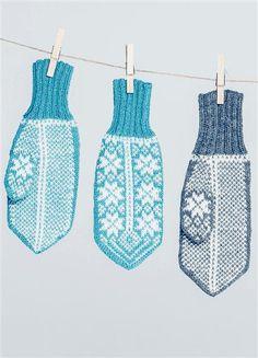 Sandnes garn: Nr. 32 Crochet Mittens, Knit Crochet, Pattern Library, Winter Accessories, Mitten Gloves, Knitting Projects, Needlework, Stitch, Wool