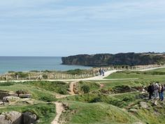 Pont du Hoc - Normandy, France, site of the D-Day landing. I was able to take my father, who is a WWII veteran on this trip, a memorable experience for us both.