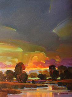 original oil painting (Contemporary Painting, Oil, Landscape)
