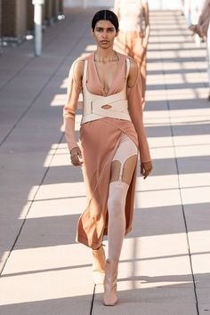 Dion Lee Spring 2020 Ready-to-Wear Collection - Vogue Source by teodoraiulia show Dion Lee, Couture Mode, Style Couture, Couture Fashion, Vogue Paris, Vogue Fashion, Runway Fashion, Spring Fashion, 2020 Fashion Trends