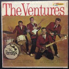 The Ventures - Self Titled VINYL LP
