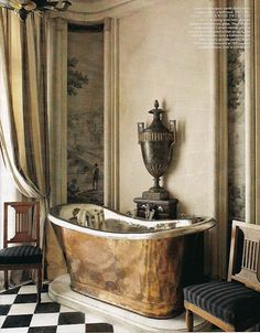Me encantan estas bañeras