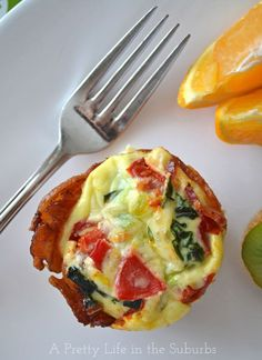 Bacon & Egg Breakfast Cups - A Pretty Life In The Suburbs