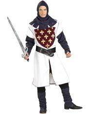Adultos traje de caballero Lancelot
