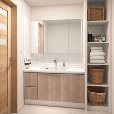 Apartment Interior, Dressing Table, Building A House, Sink, New Homes, Bathroom, Furniture, Design, Home Decor