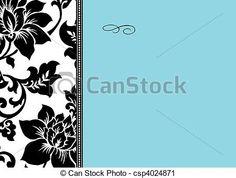 Vector Frame and Pattern - csp4024871
