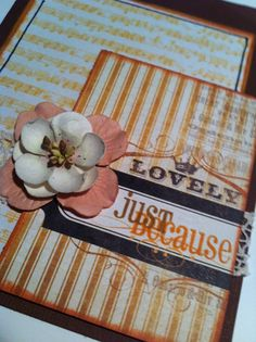 Just Because  A2 Card by LiveTeachCreate on Etsy, $3.50