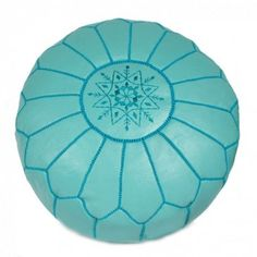 Ohh on my christmas wish list for the new reading corner. Turquoise Moroccan Ottoman Cover