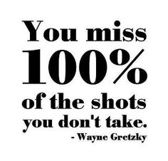 One of my very favorite sayings of all time... I use this every year, about a thousand times during soccer season! :)