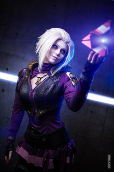 Russian cosplay Songbird pretty much is Mara Sov, Queen of Destiny's Awoken. That Ghost is a nice touch.