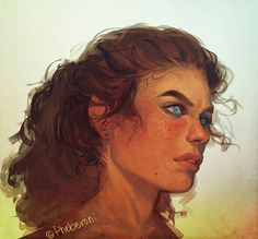This painting reminds me of a slightly paler Princess Blanca, but I also really admire the style and colours. In a way, they remind me of how I visualise things when I first imagine them. Source Comment: Georgie by Pheberoni.deviantart.com on @DeviantArt