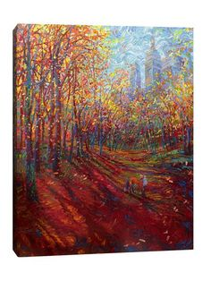For The Trees. Iris Scott. I LOVE this painting.