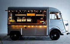 Wine truck food cart citroen #mobilemarketingtruck