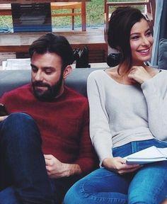 Kiralık Aşk dizisinden Müjde Uzman... #KiralıkAşk #MüjdeUzman Elcin Sangu, Love Couple, Turkish Actors, Barista, Drama, Hair Beauty, Turtle Neck, Actresses, Couples
