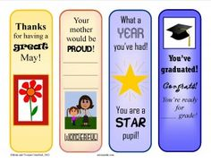 FREE reward bookmarks for the month of May - show your students that you appreciate their efforts in the classroom while promoting reading.