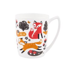 Cute fox mug!  Perfect for warm drinks on chilly, fall mornings.