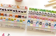Kawaii Cartoon animal memo paper One point marker Post it sticky notes Memo Pad zakka stationery office supplies School supplies-in Memo Pads from Office & School Supplies on Aliexpress.com | Alibaba Group