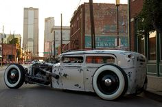 The Invasion Car Show 2012 in Deep Ellum, Dallas, Texas. #RatRod #Custom #Cool