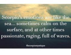 #Scorpios emotion