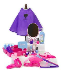 Loving this Hair Salon Set for 18'' Doll on #zulily! #zulilyfinds