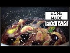 I just wanted to share a super easy fig jam recipe. It's so DELICIOUS! Goth Home Decor, Fig Jam, Halloween Tags, Autumn Coffee, Jam Recipes, Bar Drinks, Homemade, Make It Yourself, Decorating