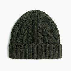 f5511d63160 Cashmere Cable-Knit Beanie Hat   Men s Hats