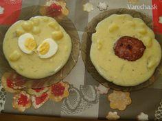 Kyslé zemiaky zo sekanou alebo vajcom