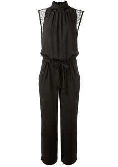 Nina Ricci Jumpsuits :: Nina Ricci black silk jumpsuit | Montaigne Market