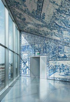 Casa da Música  #azulejos #Porto #Portugal
