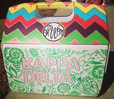 kappa delta cooler cute ;)