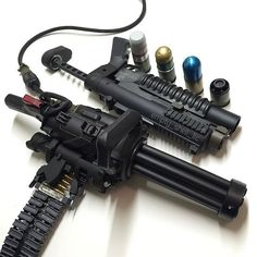 XM556 Microgun Empty Shell Defense - World's First Hand Held 5.56mm Electric Gatling Gun pictures 004